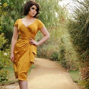 The Ava dress by Pin Up Girl Clothing